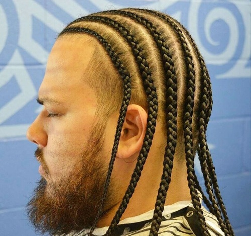 Men's Cornrows For Thin Hair