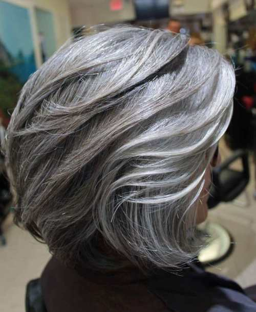 Over Layered Silver Bob