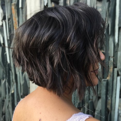 Short Shag Bob Hairstyle