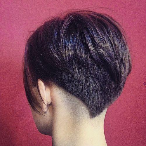 cute pixie haircut for thick hair