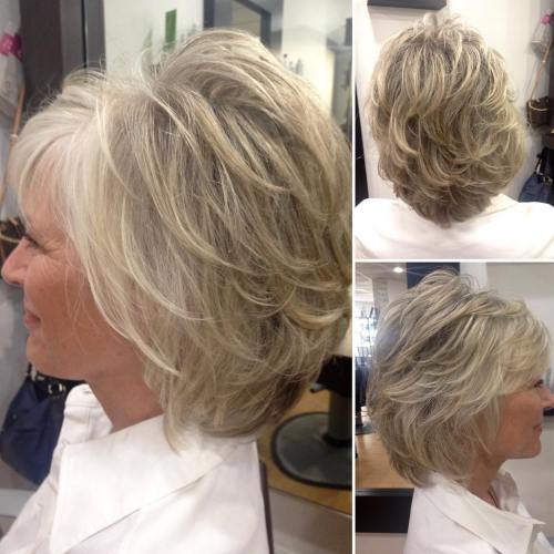 90 Classy and Simple Short Hairstyles for Women over 50