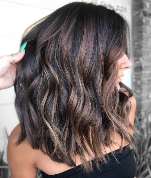 Mid Length Layered Hairstyles For Thick Hair 106
