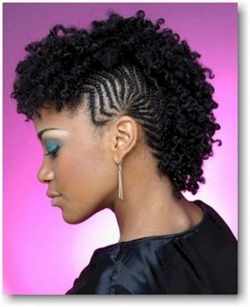 Fun, Fancy and Simple Natural Hair Mohawk Hairstyles