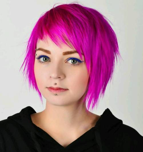 Stupendous 30 Deeply Emotional And Creative Emo Hairstyles For Girls Short Hairstyles Gunalazisus