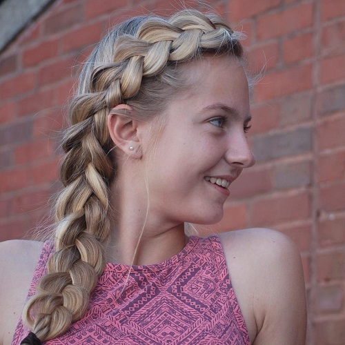 40 cute and cool hairstyles for teenage girls cute side braid hairstyle for teens urmus
