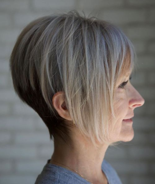 Long Pixie Cut For Thin Hair Over 40