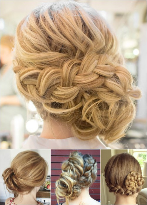 60 easy updo hairstyles for medium length hair in 2017 side braided updos pmusecretfo Image collections