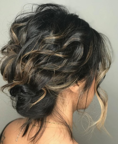 60 Easy Updo Hairstyles For Medium Length Hair In 2020