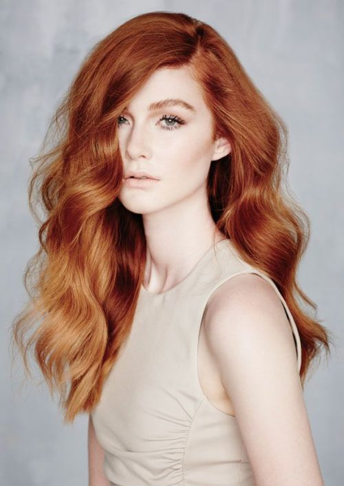Velvety Auburn Ombre   Trendy Hair Colors For Fair Skin You Should Try This Fall