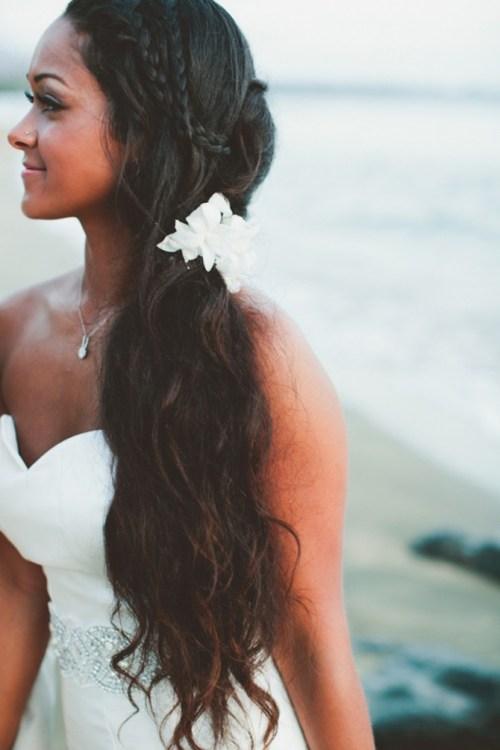 long homecoming hairstyle
