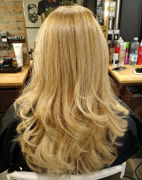 Blonde Hair With Colors 11