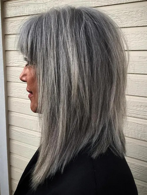30 Gorgeous Hairstyles for Gray Hair