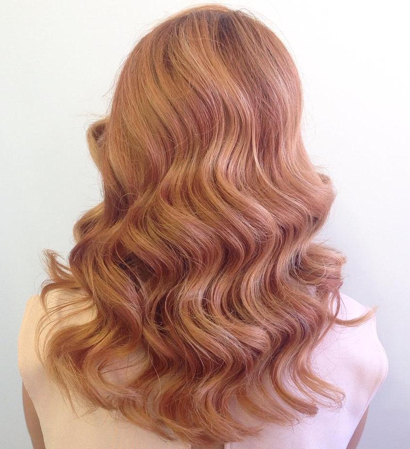 Shades Of Blonde Haircolor
