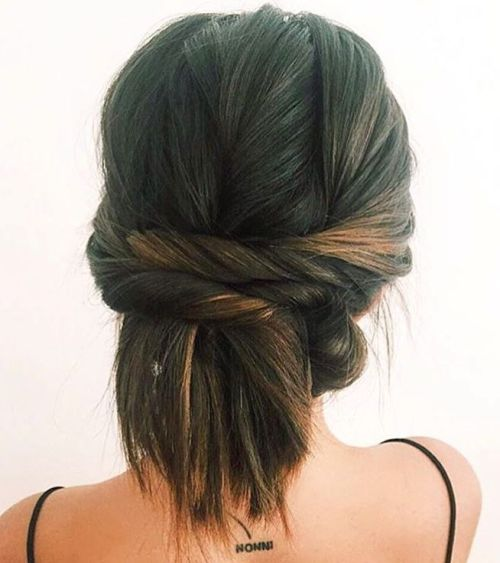 Two Twists Updo