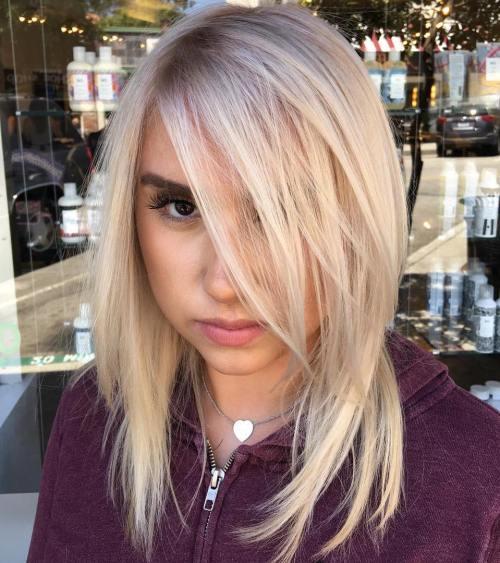 Medium Layered Haircut For Fine Hair