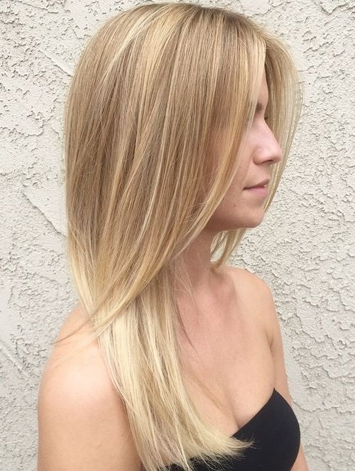 Blonde Hair #8: Straight Sandy Blonde Layers