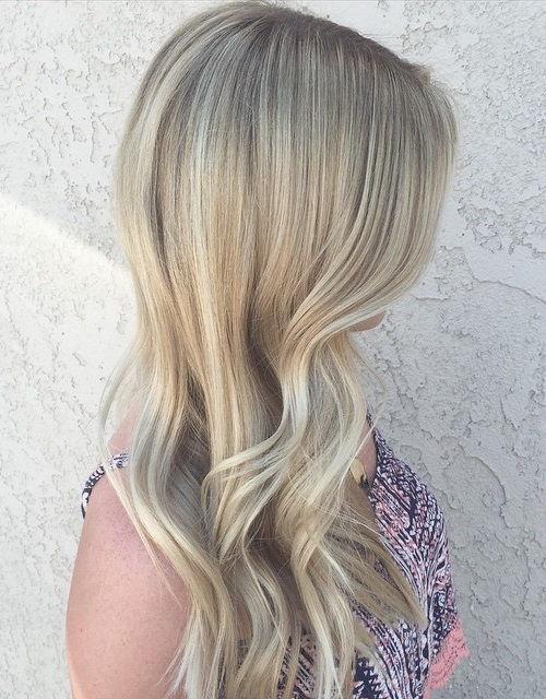 brown blonde balayage