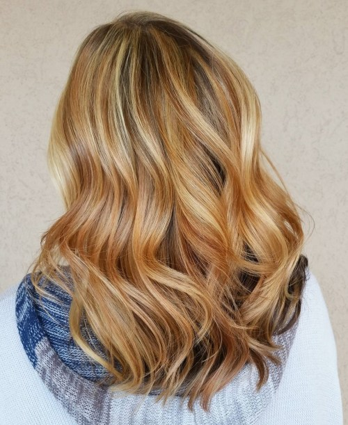 60 stunning shades of strawberry blonde hair color golden blonde and red highlights pmusecretfo Gallery