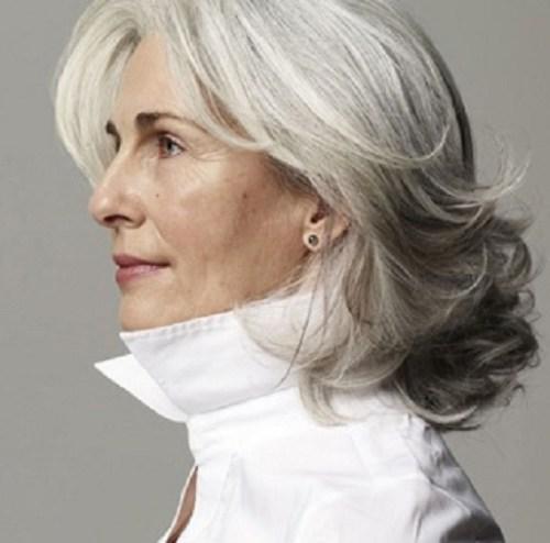 Groovy 60 Gorgeous Hairstyles For Gray Hair Short Hairstyles For Black Women Fulllsitofus