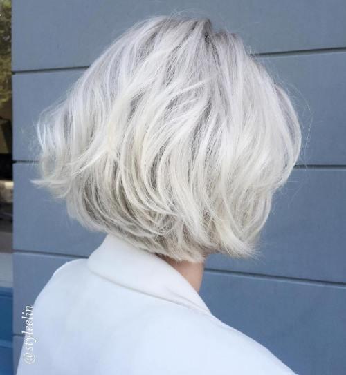 Cool 50 Trendiest Short Blonde Hairstyles And Haircuts Short Hairstyles Gunalazisus
