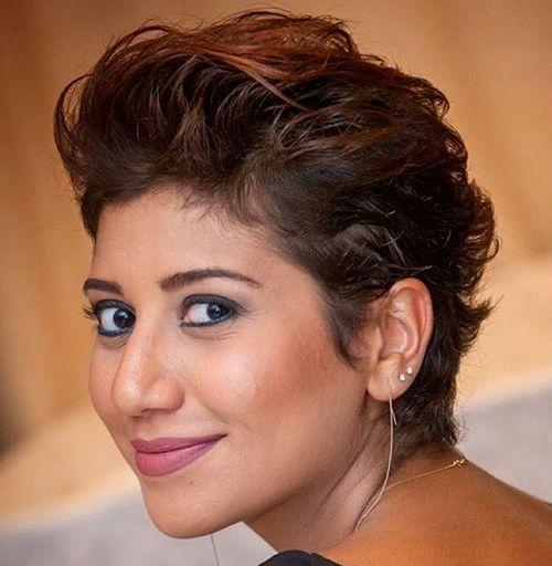 trendiest short brown hairstyles  haircuts