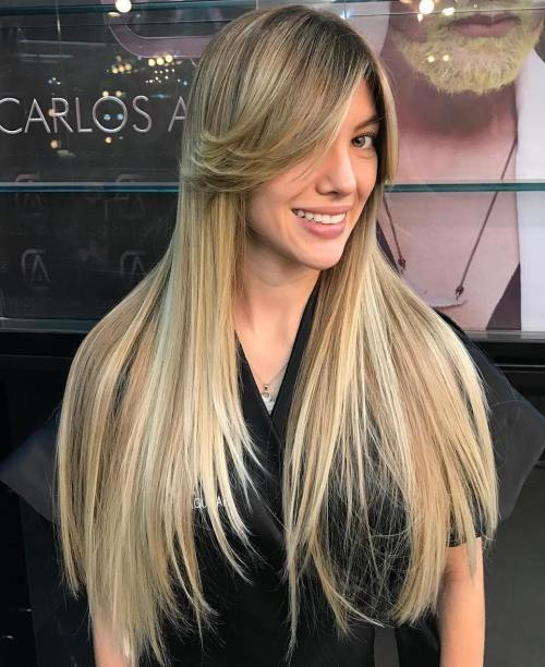 40 Cute Long Blonde Hairstyles For 2018