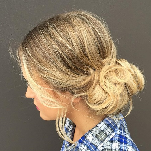 Updo Hairstyles For Curly Hair Wedding: 20 Lovely Wedding Guest Hairstyles