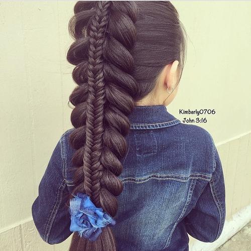 Swell Braids For Kids 40 Splendid Braid Styles For Girls Hairstyles For Women Draintrainus