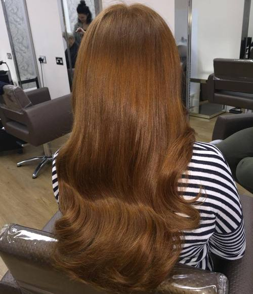 Long Light Brown Hairstyle