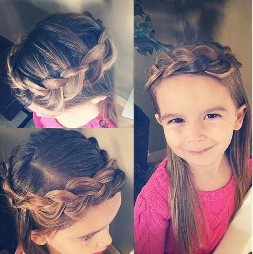 Enjoyable Braids For Kids 40 Splendid Braid Styles For Girls Hairstyle Inspiration Daily Dogsangcom