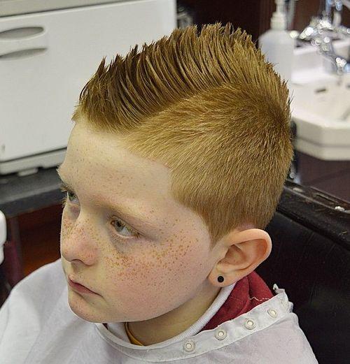 Cool Fauxhawk Haircut