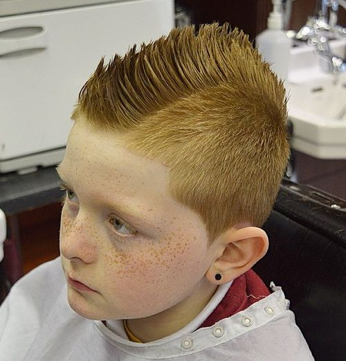 Cool Fauxhawk Haircut