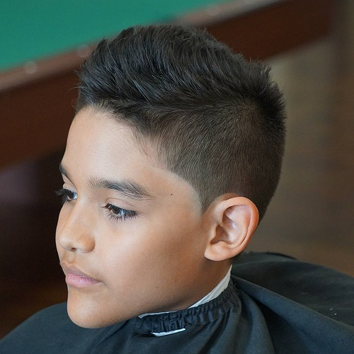 Short Spiky Haircut For Teenage Boys
