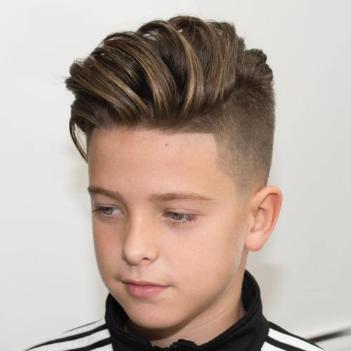 Boys Hairstyles i love love love this little boys hair cut i just might have to do Long Top Undercut For Boys