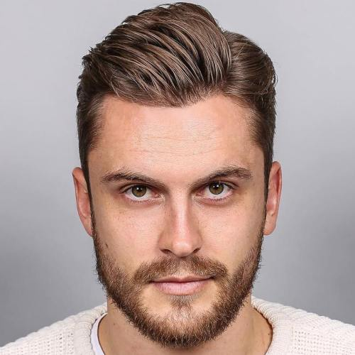 Side Part Men's Haircut