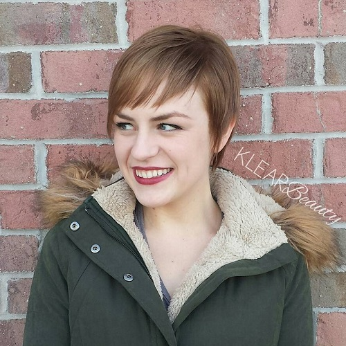 Long Pixie Haircut For Thin Hair