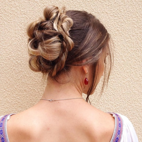 Formal Twisted Updo