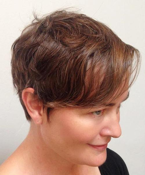 pixie with bangs for thin hair