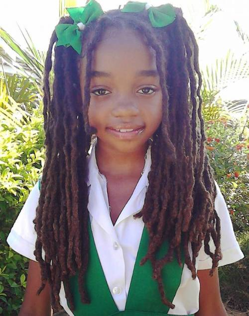 Hairstyles For Black Little Girls elegant braided hairstyles for black girls elegant braided hairstyles for black girls give your little black Dreadlocks For Little Girls