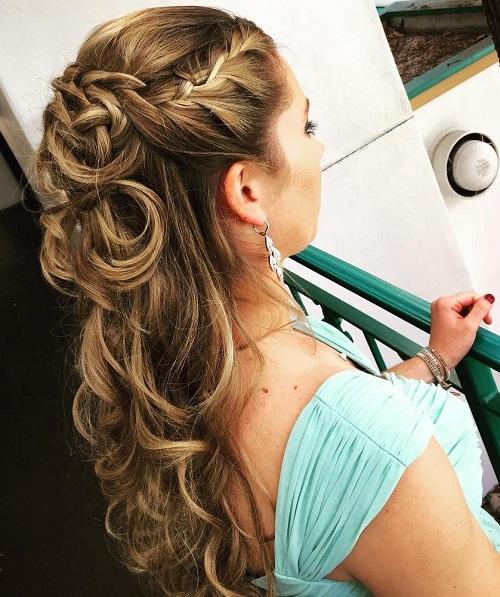 Fabulous Half Up Half Down Wedding Hairstyles 50 Stylish Ideas For Brides Short Hairstyles For Black Women Fulllsitofus