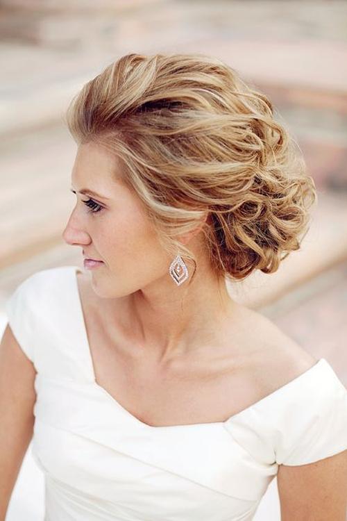 Unique Beach Wedding Hair