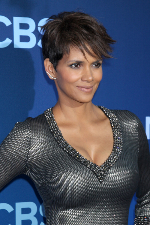 pixie haircut with edgy bangs