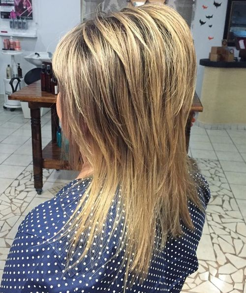 layered haircut for straight hair
