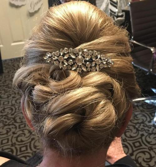 Twisted Bun Updo
