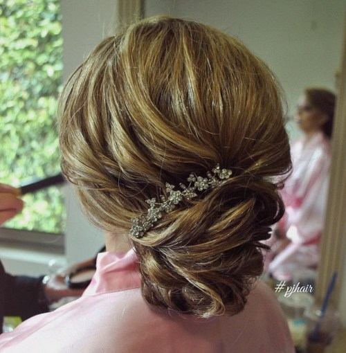 Formal Textured Chignon
