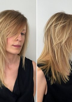 Hairstyles and haircuts for thin hair in 2017 therighthairstyles medium layered haircut for fine hair urmus Images
