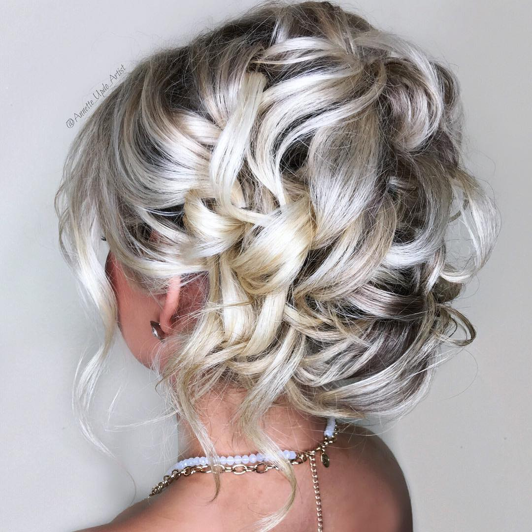 Updo Curly Hairstyles Wedding: 40 Irresistible Hairstyles For Brides And Bridesmaids