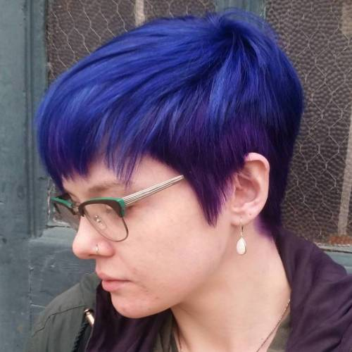 Blue And Purple Pixie
