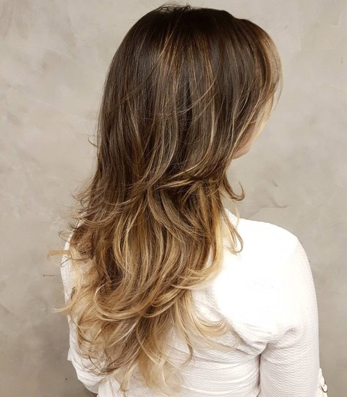 Layered Haircut For Long Wavy Hair