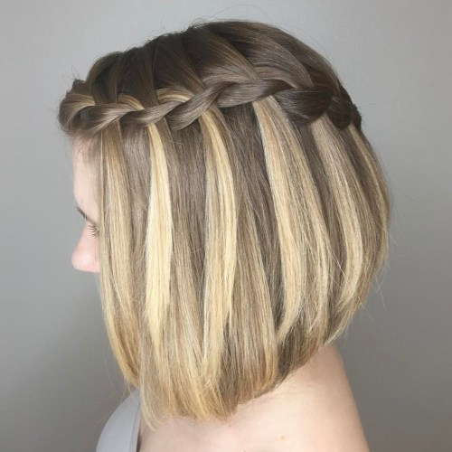 Braided Bob Hairstyle